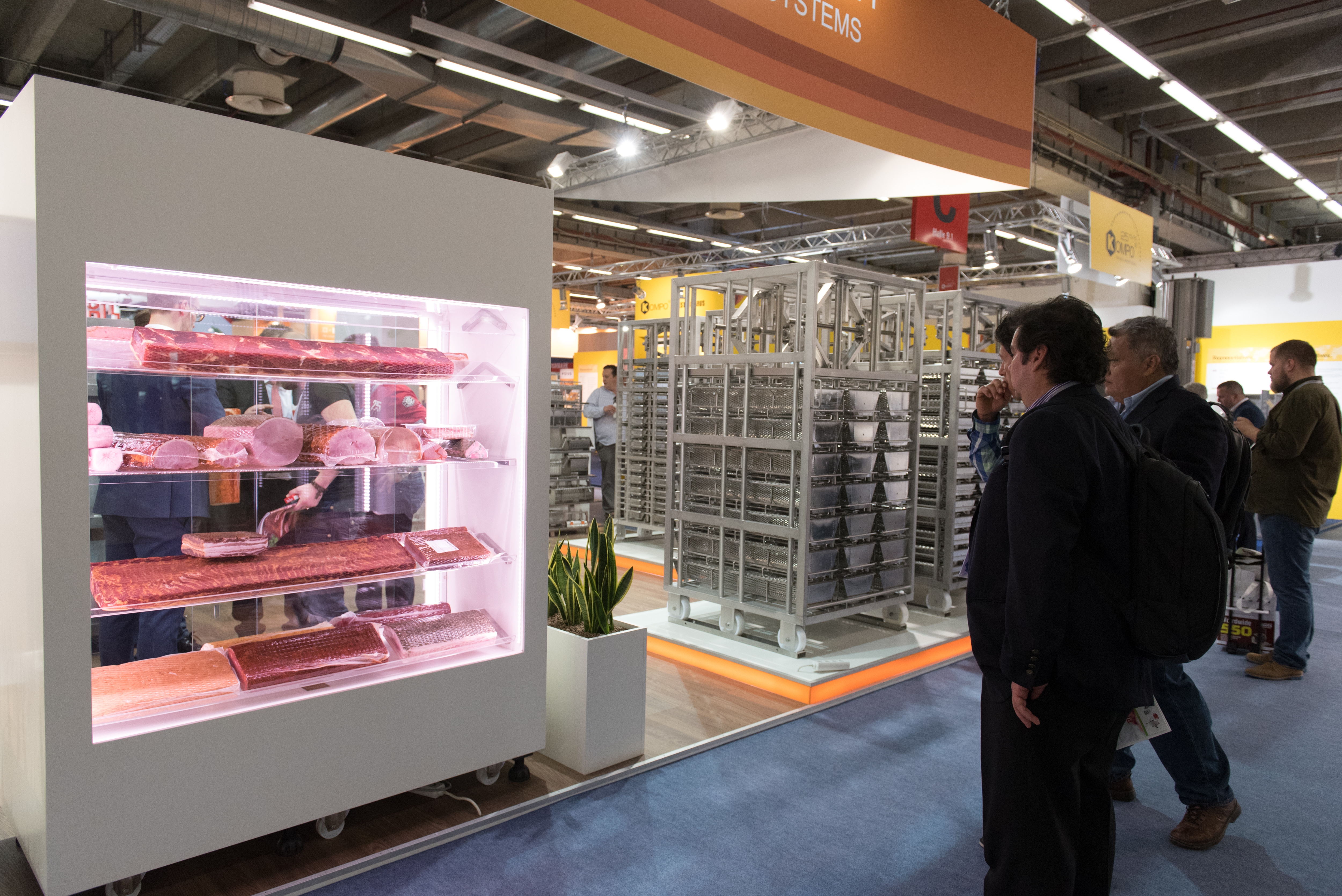 Refrigeration technology at IFFA