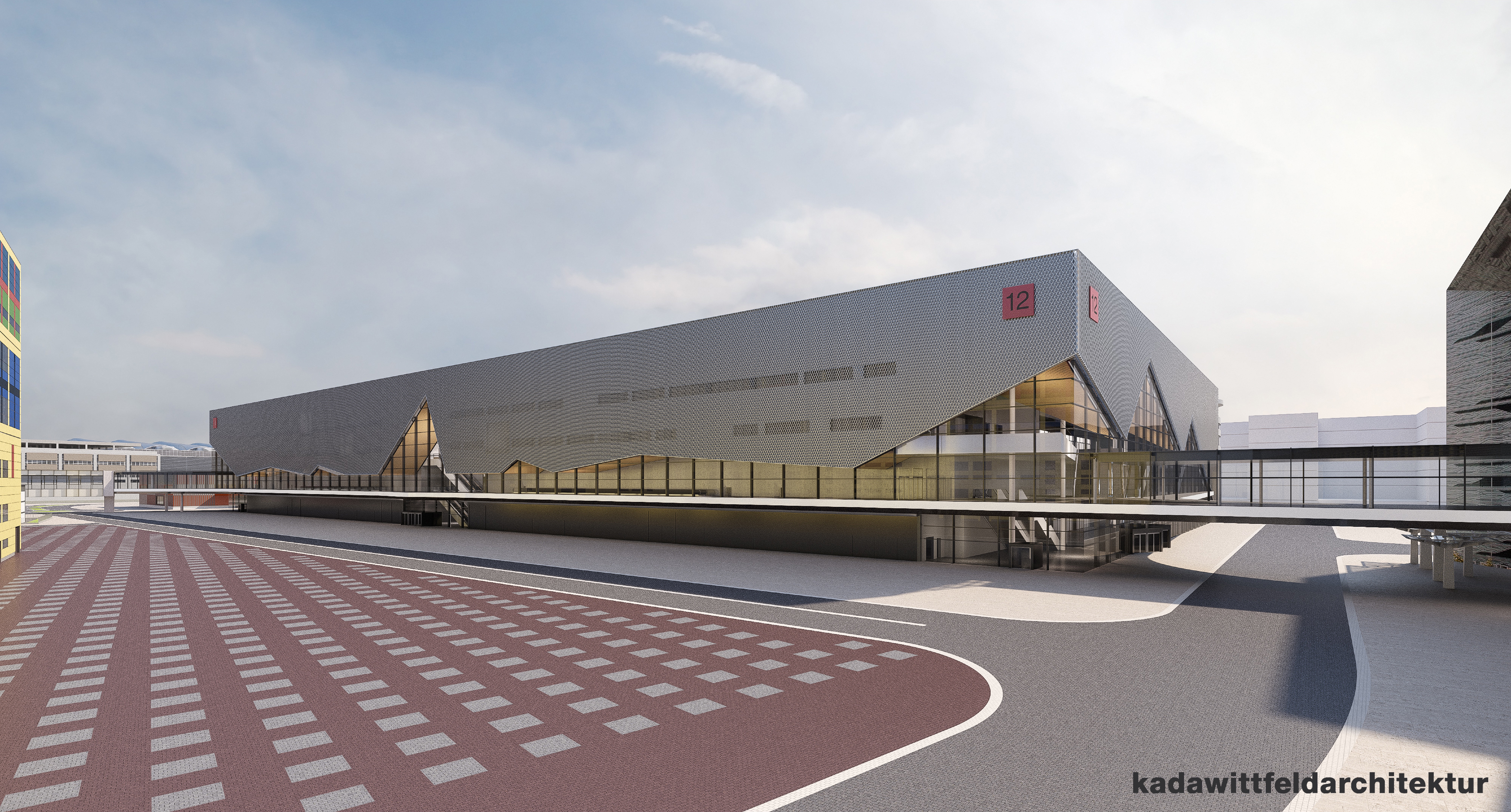 The new Exhibition Hall 12 will be used for IFFA 2019 for the first time (Source: Messe Frankfurt)