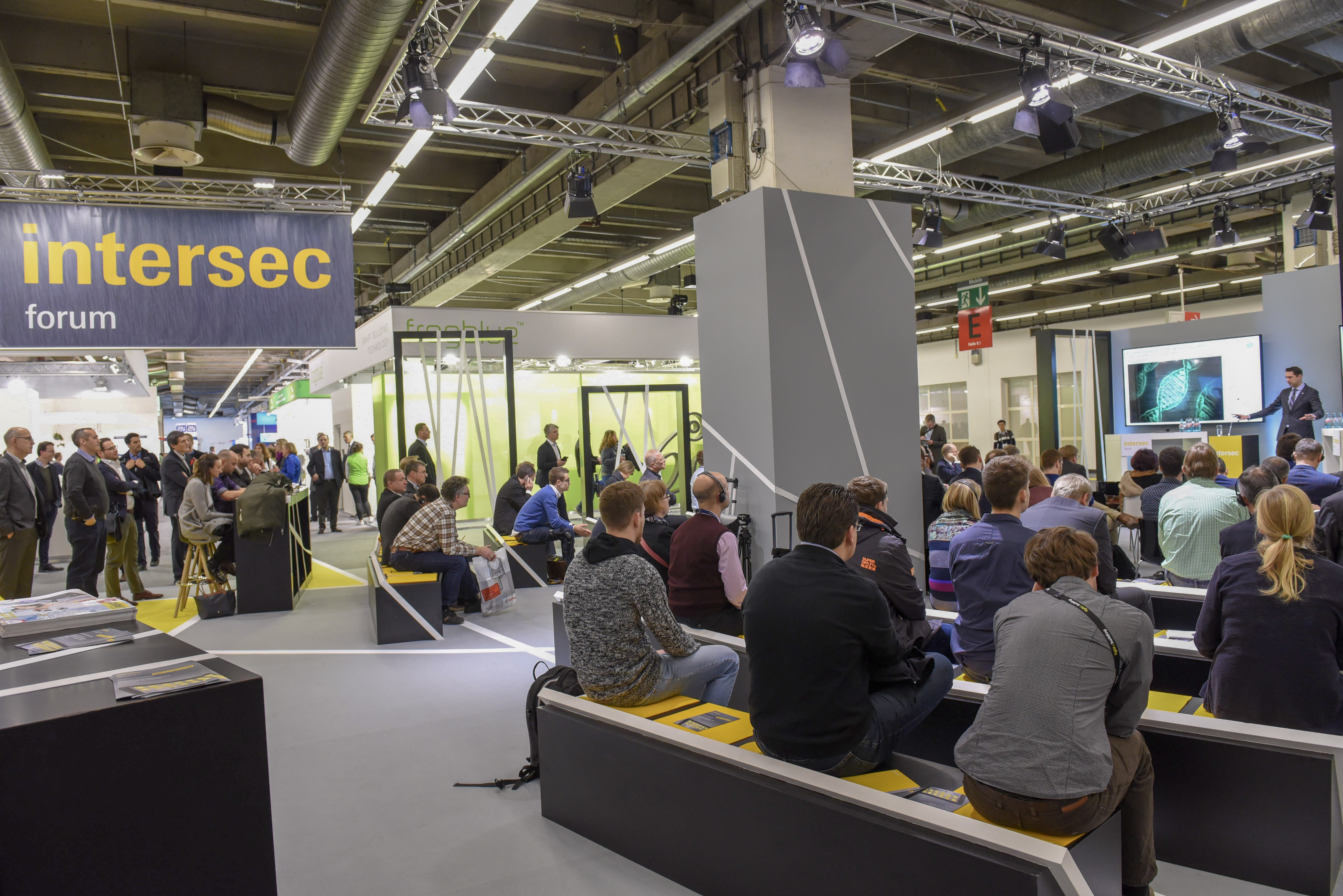 Intersec Forum is the main information interface at Intersec Building (8 to 13 March 2020). This, in turn,  is a component part of Light + Building and focuses on connected safety and security in the building-automation sector.