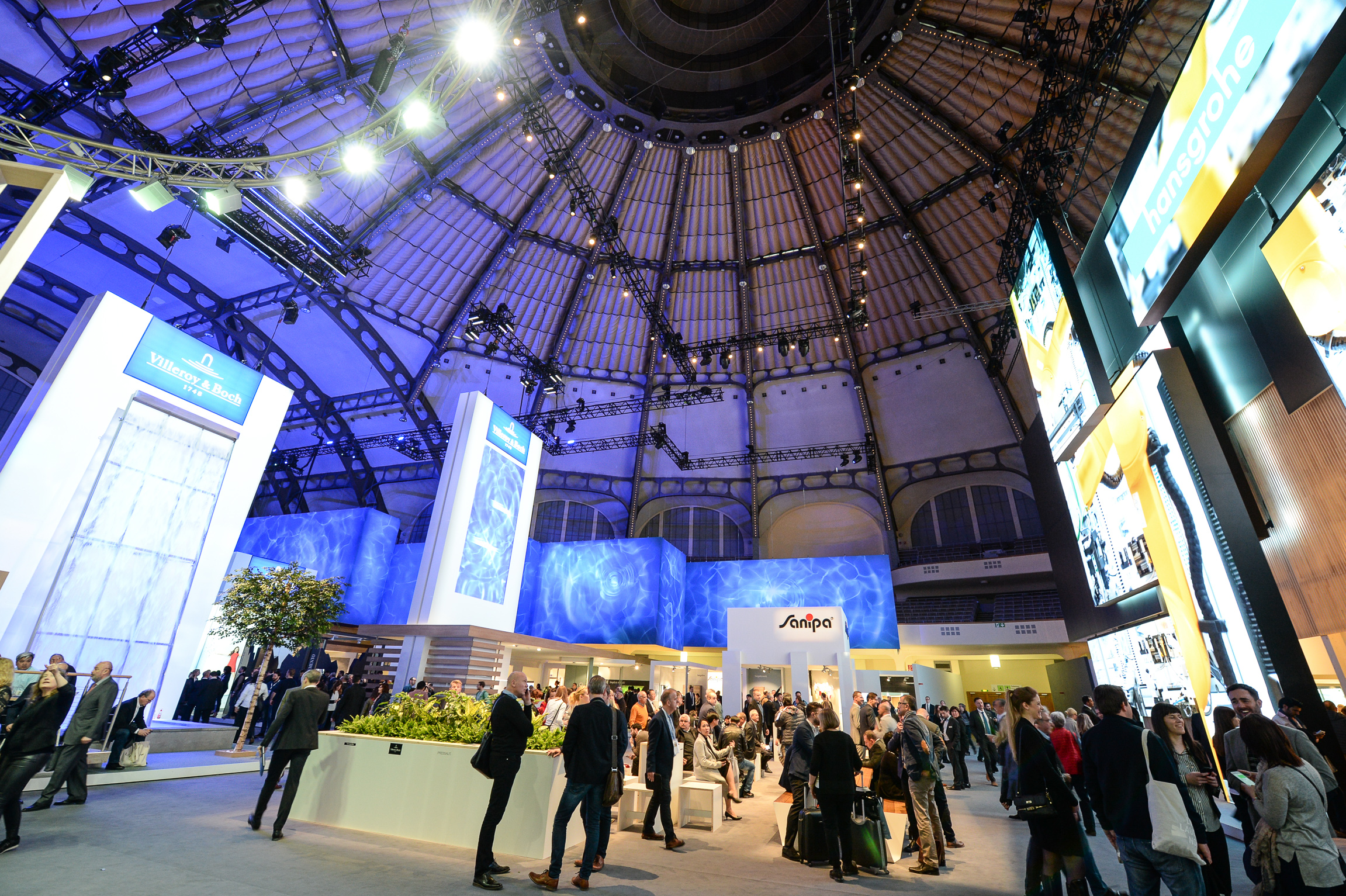 2,532 ISH exhibitors will present their products in Frankfurt to the international HVAC sector from Monday 11 March.
