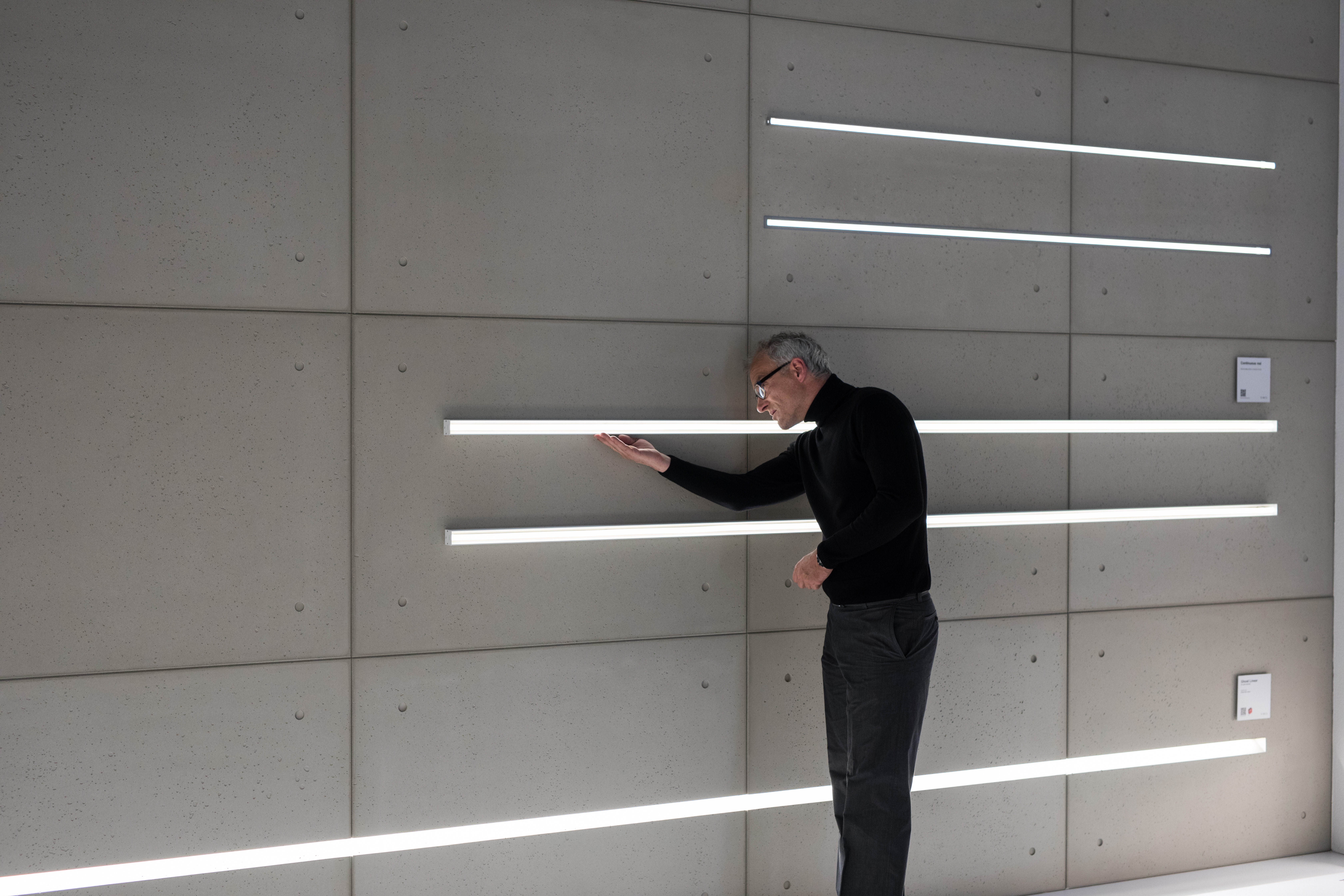 Besucher der Light + Building