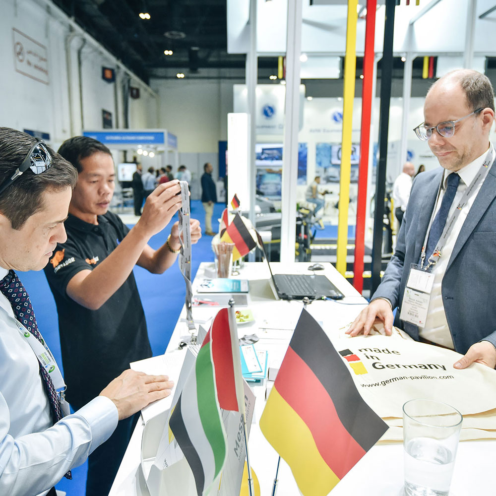 German Pavilion Middle East Cleaning Technology Week