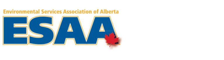 Logo Environmental Services Association of Alberta